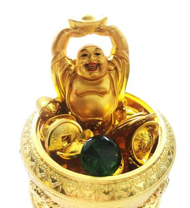 Wealth Pot with 8 Auspicious Symbols