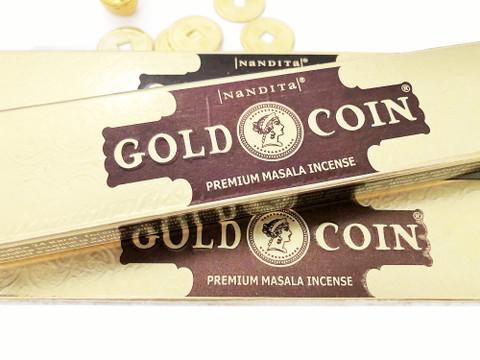GOLD COIN Premium Incense 3 boxes
