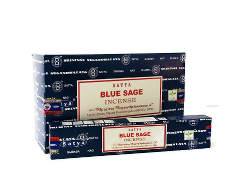Blue Sage to Keep Clear the Energy in Rooms-