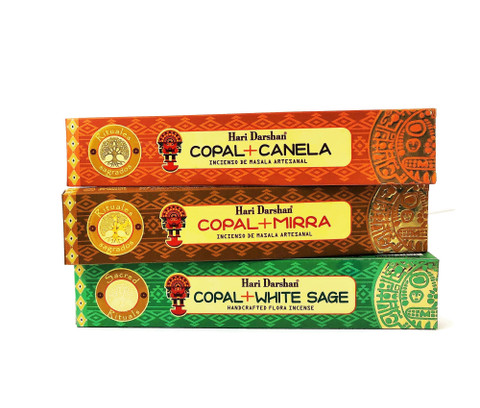 Copal Trio for Energetic Protection & Purification-3PACK