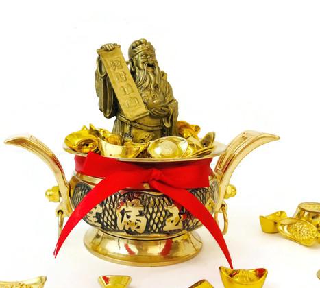 God of Wealth Fortune Bowl