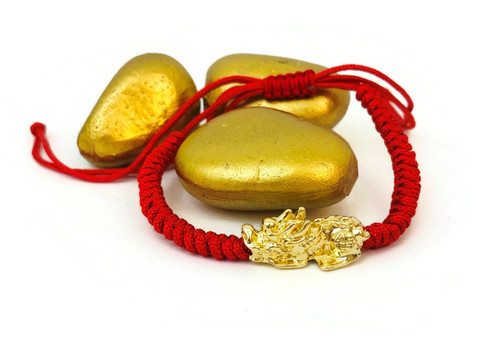 Pixiu Wealth Bracelet -18K Gold