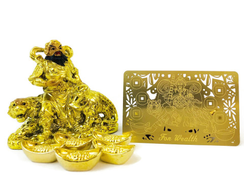 2021-Display the God of Wealth to  attract wealth luck that keeps on increasing!