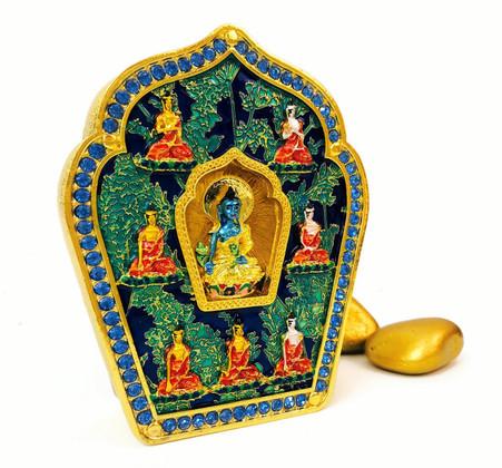 MEDICINE BUDDHA AND THE 7 SUGATA GAU