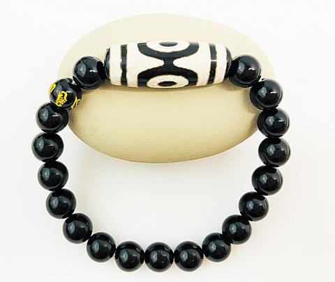 DZI 3 Lucky Bracelet achieve good health, success and wealth.