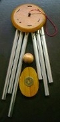 Wealth Chime. Hang it in the Wealth Area to activate Wealth..
