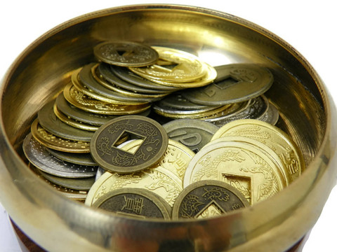 Feng Shui Bowl of Coins