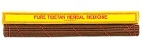 "Pure Herbal Tibetan Medicine- 20 Sticks 11""L"