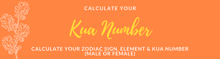 Kua Number Calculator- What's my Kua Number? - Unique Feng ...