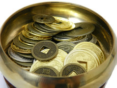 Feng Shui Bowl Chinese Coins Activate Your Wealth Luck