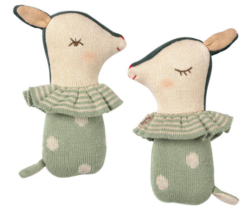 Sonajero bambi color mint - Maileg
