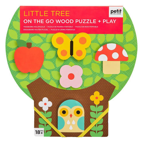 Puzzle de madera  little tree - Petit collage