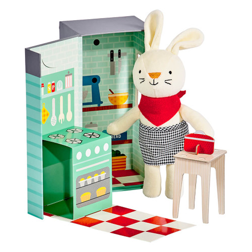 Playset – RUBY The Rabbit Petit collage