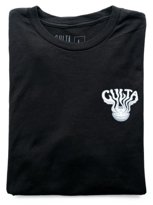 CULTA 710 black shirt front 1