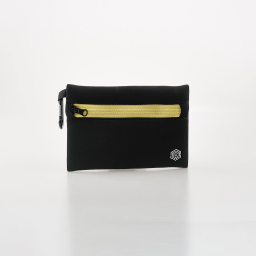 CULTA ALL SEEING EYE NEOPRENE POUCH [Black/Gold]