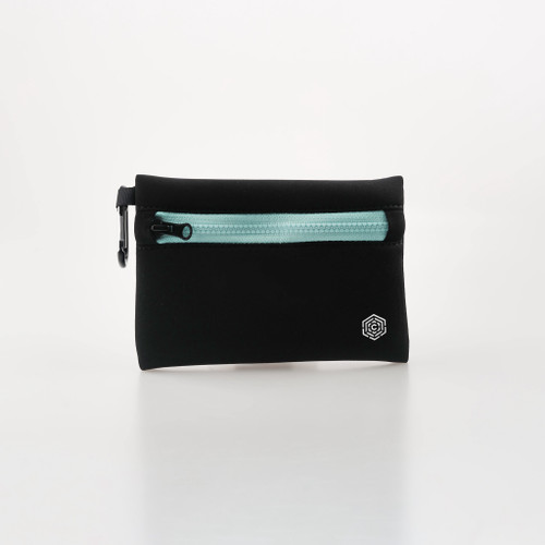CULTA ALL SEEING EYE NEOPRENE POUCH [Black/Mint]