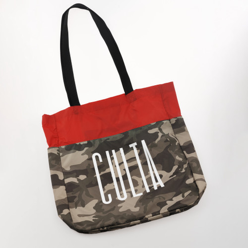 CULTA NYLON TOTE [Camo/Red]