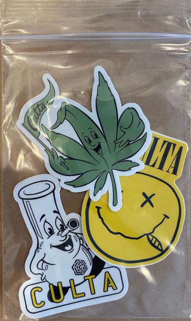 CULTA 90's Fun Sticker Pack