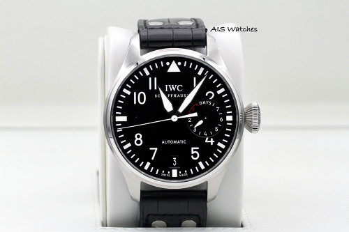 IWC Schaffhausen IW500901 Big Pilot 7 Days Black Dial 46.2MM B&P