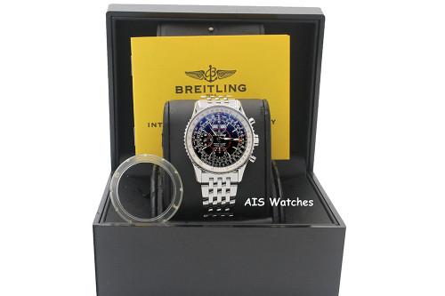 Breitling Navitimer 43MM Montbrillant Datora A21330 Stainless Steel