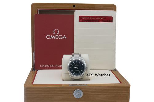 Omega Aqua Terra Master Co-Axial 150M 41.5 MM Blue Dial 231.10.42.21.03.003