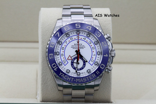 Rolex Yacht-Master II YMII 116680 MK1 Dial 44MM Box & Papers