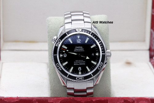 Omega Seamaster Planet Ocean 2500 42MM Co-Axial Chronometer 600M 2201.50.00 B&P