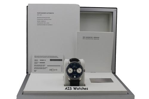 IWC Schaffhausen Portuguese 42.3MM Automatic 7 Day Laureus Edition IW500112 B&P