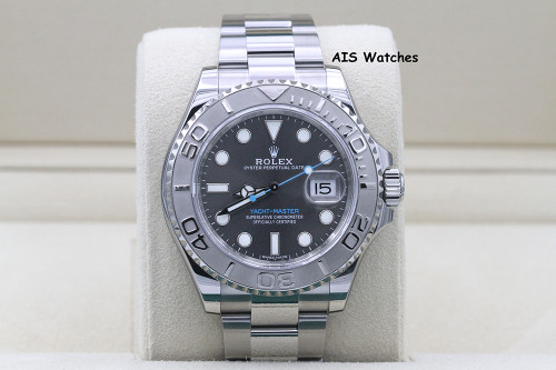 Rolex YachtMaster 116622 Rhodium Dial Random Serial Box & Papers