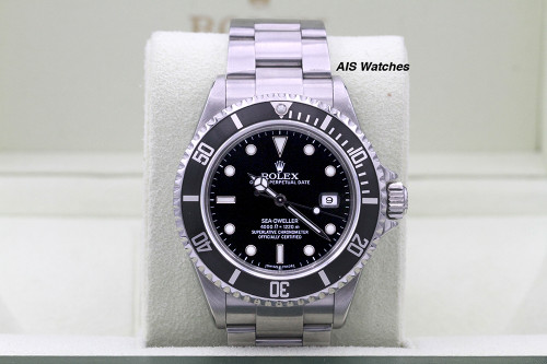 Rolex Sea Dweller 16600 SD M Serial 40 MM No Hole Case / SEL B&P