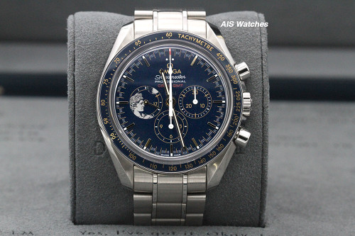Omega Speedmaster Apollo 17 45th Anniversary 311.30.42.30.03.001 Box & Papers