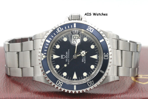 Tudor Submariner 79090 Blue Dial 40MM Box & Papers