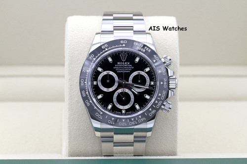BNIB Rolex Cosmograph Ceramic Daytona 116500 Black Dial Box & Papers