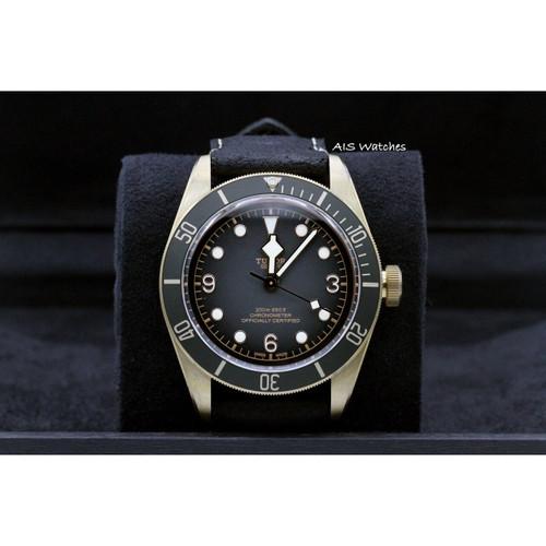 BNIB Tudor 79250BA Black Bay Bronze Black Leather Strap 43MM Box & Papers