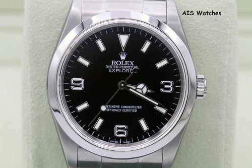 Rolex Explorer 114270 K Serial 36 MM