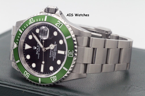 Rolex Submariner 16610LV 50th Anniversary D Serial