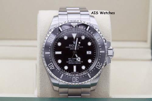 Rolex 116660 Deep Sea SeaDweller DSSD Black Dial Box & Papers