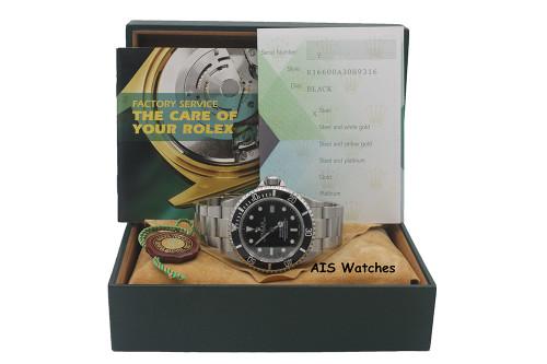 Rolex Sea Dweller 16600 SD Y Serial 40 MM Hole Case / SEL B&P