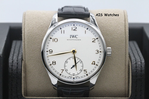 IWC Schaffhausen IW358303 Protugieser Automatic 40 Leather Strap Box & Papers
