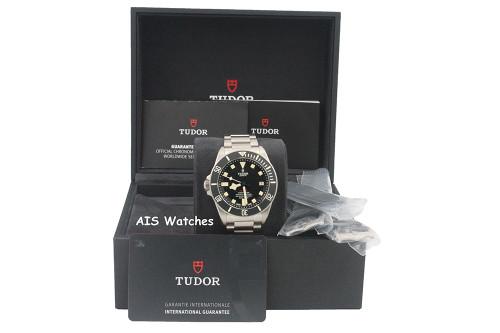 BNIB Tudor 25610TNL Pelagos Titanium LHD 42MM Box & Paper