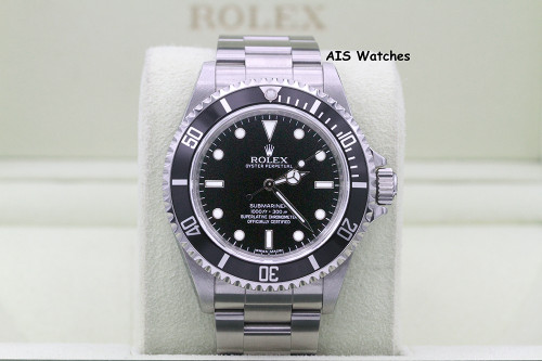 Rolex Submariner 14060M No Date G Serial Box & Papers