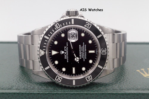 Rolex Submariner Date 16610 A Serial Box & Papers