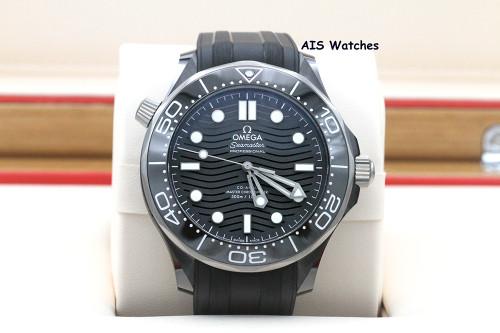 Omega Seamaster 300M Black Ceramic 43.5MM Diver 210.92.44.20.01.001 B&P
