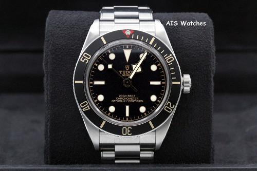 Tudor 79030N Black Bay Fifty-Eight 58 Black 39MM Bracelet BB58 Box & Paper