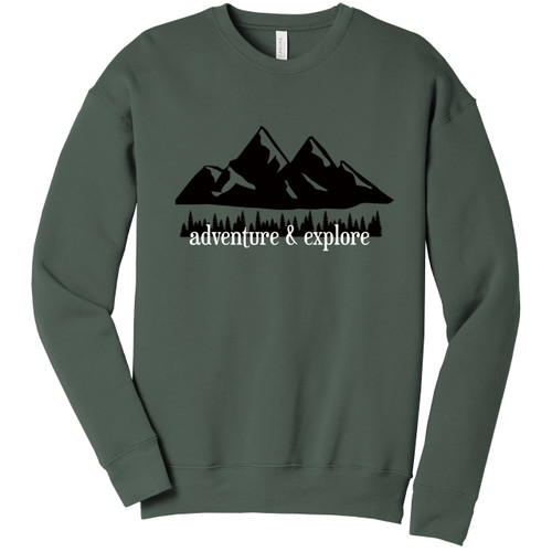 Military Green Adventure & Explore