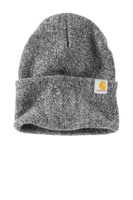 Black/White Carhartt® Watch Cap 2.0