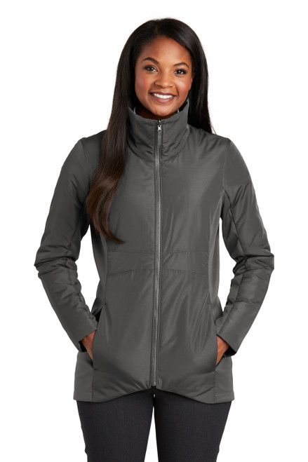 Graphite Port Authority ® Ladies Collective Insulated Jacket