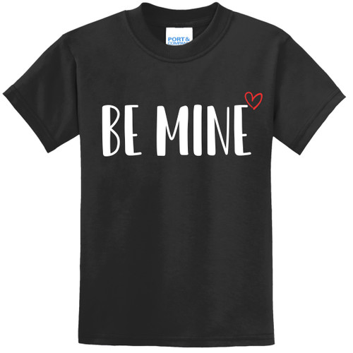 Black Be Mine Toddler Tee