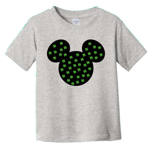 Athletic Heather Mickey Ears Toddler Tees