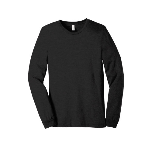 Black BELLA+CANVAS ® Unisex Jersey Long Sleeve Tee
